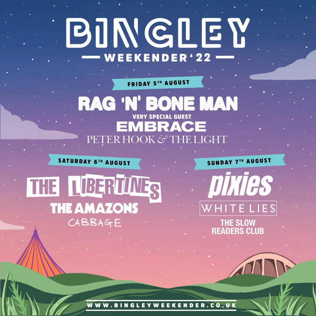 Bingley Line up